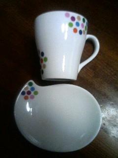 カフェラテ&カプチーノのカップ&ソーサー