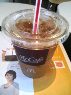 朝マックで無料コーヒー